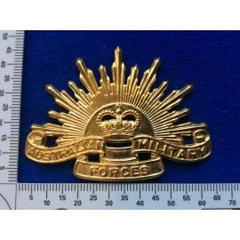 Vietnam era Australian Rising Sun slouch Hat badge