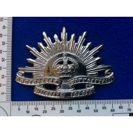 Chromed K/C Rising Sun as worn by Armoured units