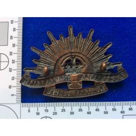 WW2 Australian Rising Sun Hat badge by AMOR SYDNEY