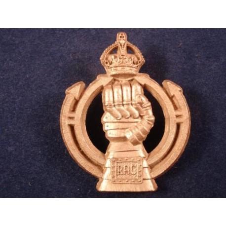 Royal Armoured Corps Plastic Cap Badge