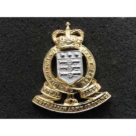 Royal Australian Army Ordnance Corps (RAAOC ) Anodised Hat badge