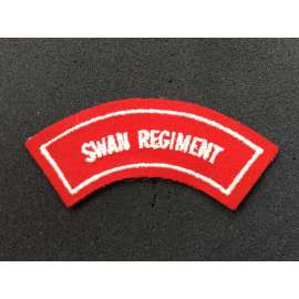 Swann Regiment Shoulder Title circa 1948-60