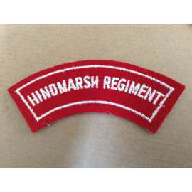 Australian HINDMARSH REGIMENT Shoulder Title