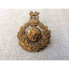 WW2 Royal Marines Other Ranks Beret badge