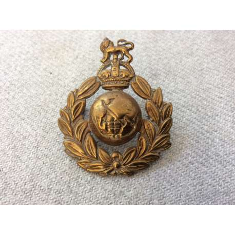 WW2 Royal Marines Other Ranks Beret badge