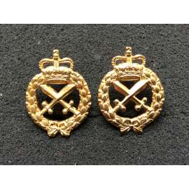 Australian Provost Corps Collars circa 1953-60