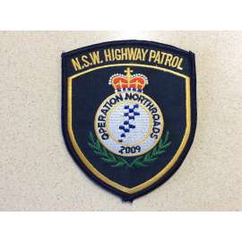 N.S.W Highway Patrol, Operation Northroads 2009 Sleeve Patch