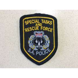 South Australia Police Special Tasks & Rescue Force Sleeve Patch