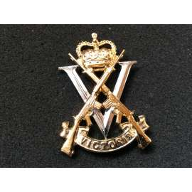 Australian Royal Victoria Regiment Anodised Cap Badge By Swann