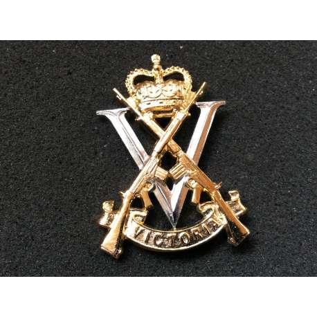 Australian Royal Victoria Regiment Anodised Cap Badge By Swann