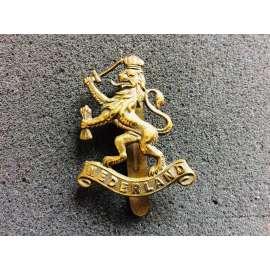 WW2 Free Dutch NEDERLAND Cap Badge By Gaunt London