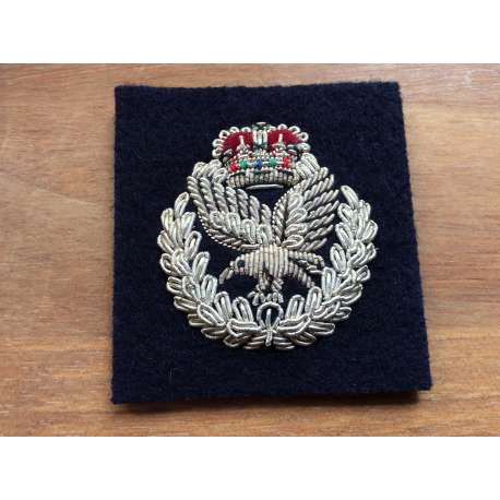 Army Air Corps Officers Bullion Beret Badge
