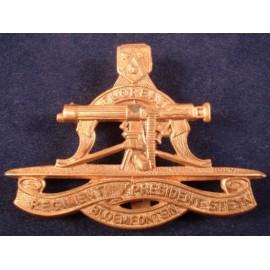 Regiment President Steyn Brass Cap Badge