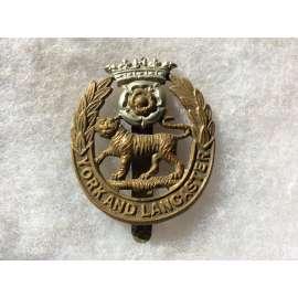WW1 York & Lancaster Regiment Cap badge