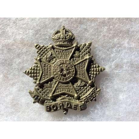 WW1/WW2 The Border Regiment Cap badge