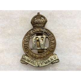 4th Queens Own Hussars ORs Collar Badge