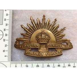 WW1 Australian Rising Sun by Tiptaft Birmingham ( rear loops)