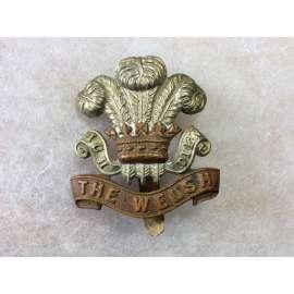 WW1 The Welsh Regiment Cap badge