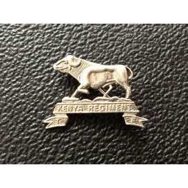 Kenya Regiment, Territorial Force , Silver Sweetheart badge