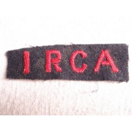 WW2 1 RCA Shoulder Title