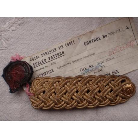 R.C.A.F Sealed pattern Bandsman Epaulette