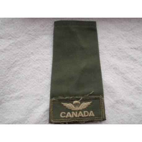 Canadian Parachute Regiment Shoulder Slide