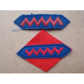 WW2 1st Canadian A.G.R.A Wool Sleeve Patches