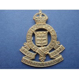 WW2 R.C.O.C Cap Badge
