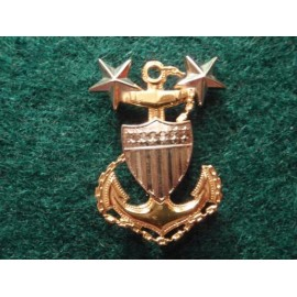 U.S.C.G Enlisted Ranks bi/m Cap Badge