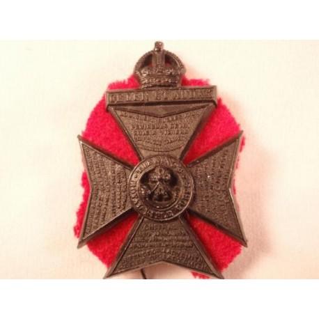 The Kings Royal Rifle Corps Plastic Cap Badge