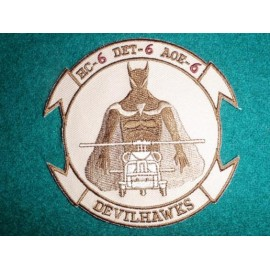 HC-6 DET 6 DEVILHAWKS Desert Colours Patch