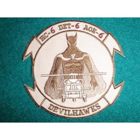 HC-6 DET 6 DEVILHAWKS Desert Colours Patch