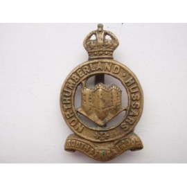 Northumberland Hussars Locally Made Cap Badge