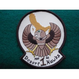 USN CVW-9 HAWKEYE Desert Colours Patch