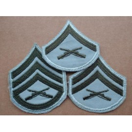 Early 'Mint' Female USMC Enlisted Rank Badges