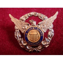 U.S Coast Guard Auxiliary B/M Badge