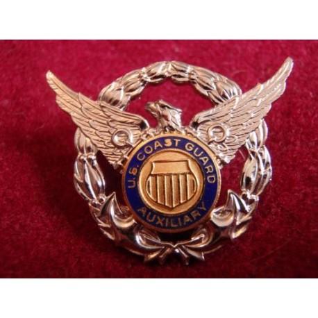 U.S Coast Guard Auxiliary B/M Badge
