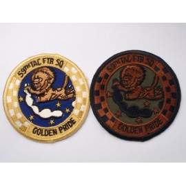 59th Tactical Fighter Squadron Patches