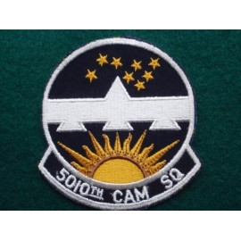 U.S.A.F 5010 CAN SQ Patch