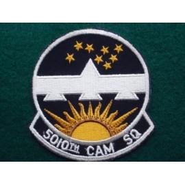 U.S.A.F 5010 CAN SQ Patch