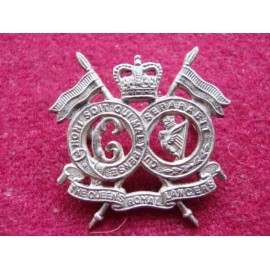 Q/C The Queens Royal Lancers Collar Badge