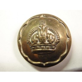 The Ayrshire Yeomanry Brass Button