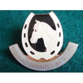Transkei Mounted Battalion (Mounted Infantry) Large Badge