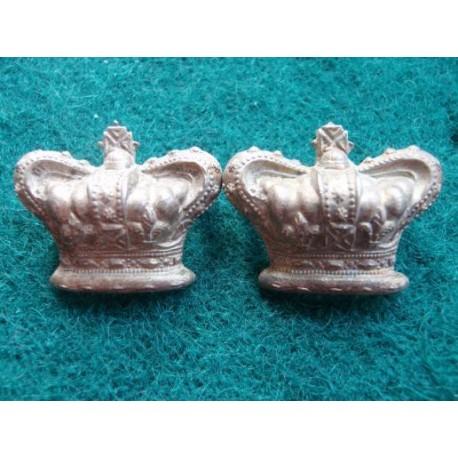 Victorian Militia Majors Crowns