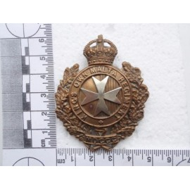 Kings Own Malta Regt Cap Badge