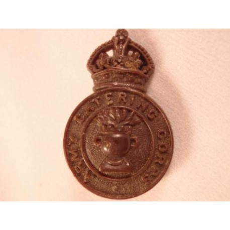 Army Catering Corps Plastic Cap Badge