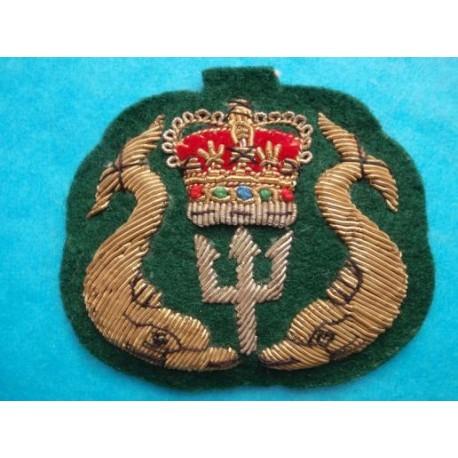 Canadian Submariners Padded Bullion Hat Badge