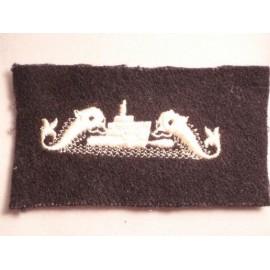 U.S.N Enlisted Mens Cloth Submarine Insignia