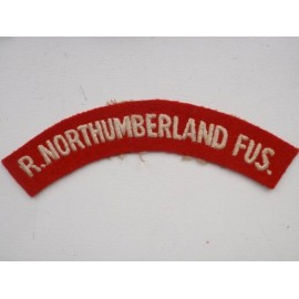 WW2 R.Northumberland Fusiliers Shoulder Title