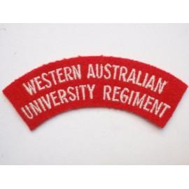 Western Australia University Regiment Title